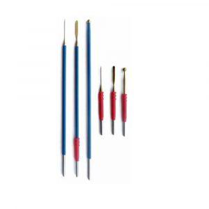 Electrodos desechables de titanio recubierto
